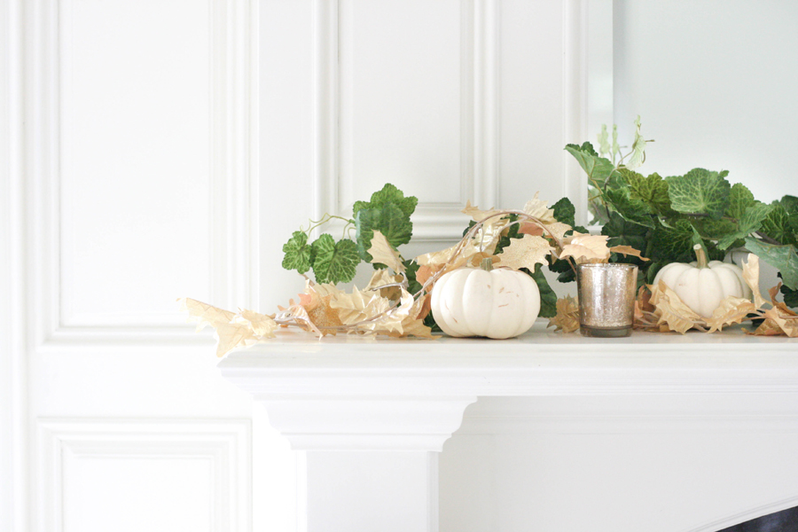 Fall decor, autumn decor, seasonal decor, interior design