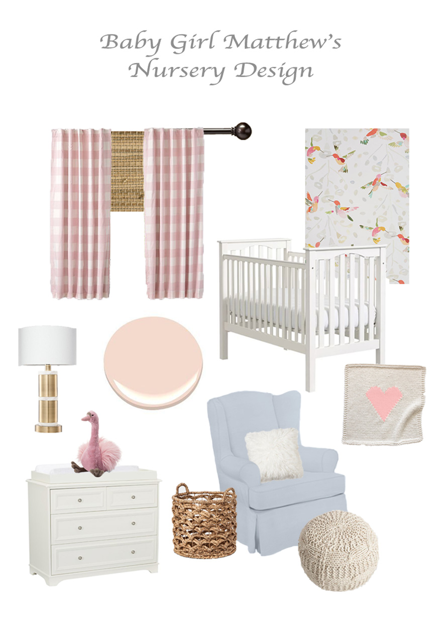 classic and colorful baby girl s nursery rh hannahmatthew com