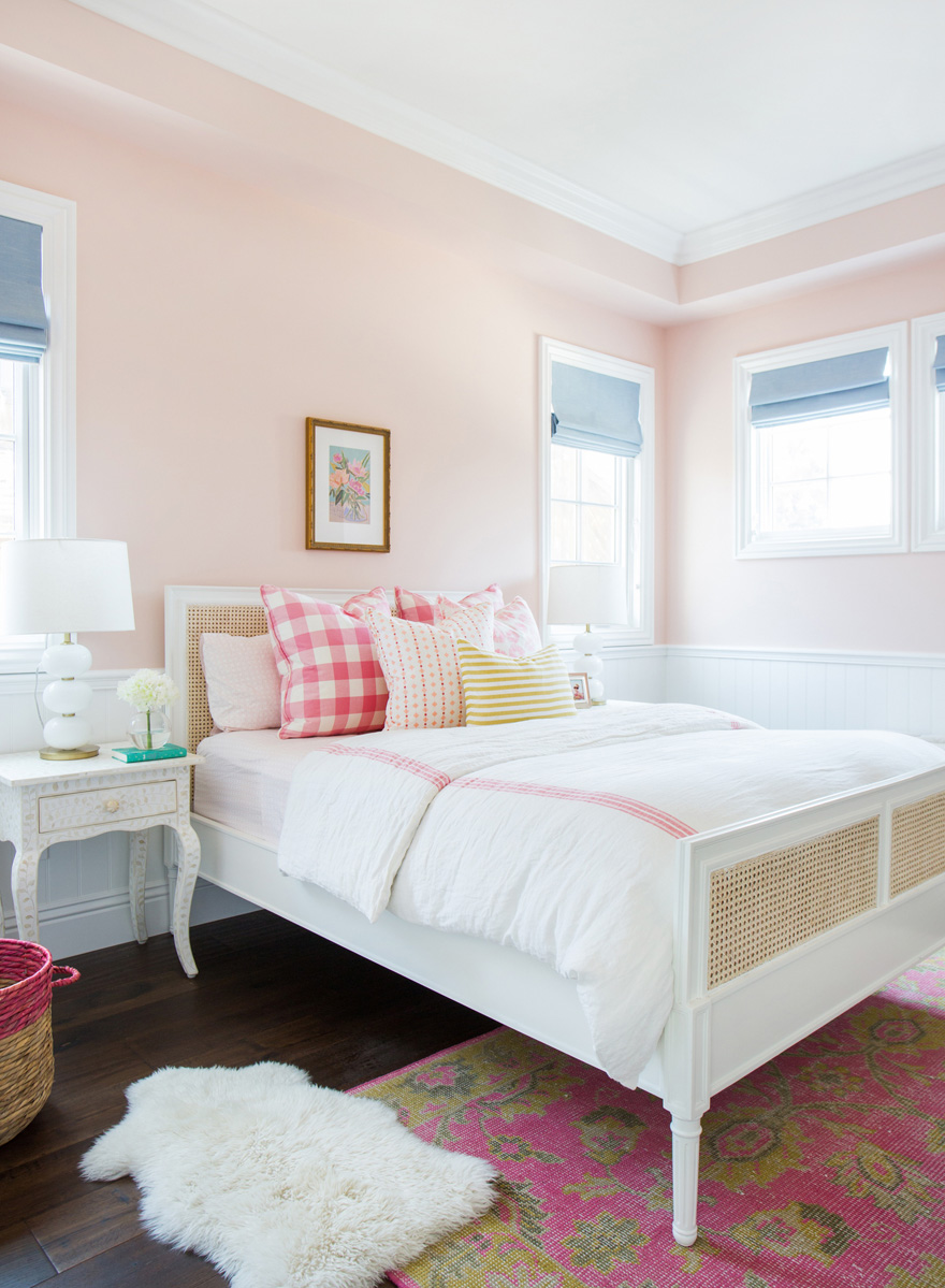 Classic and Colorful Baby Girl's Nursery
