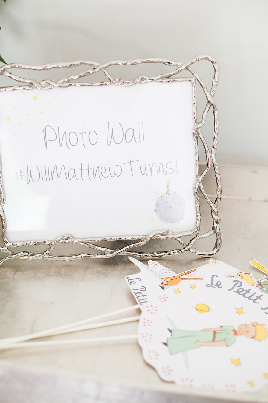 Le Petit Prince First Birthday Party
