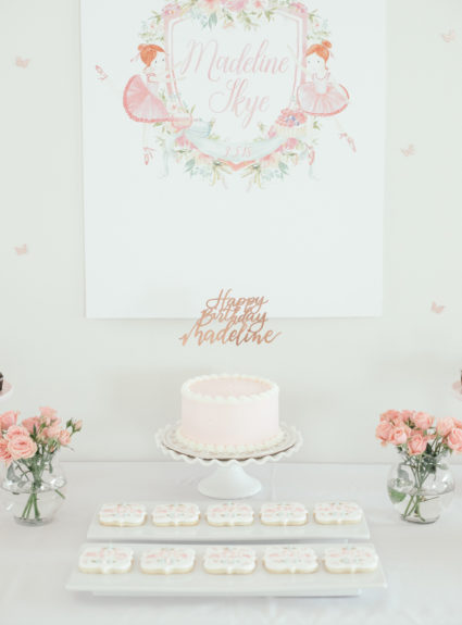 Floral Ballerina Birthday Party